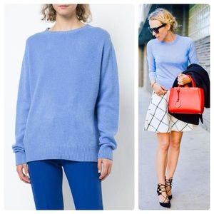 •TED BAKER• Periwinkle Silk & Cashmere Knit Sz 4